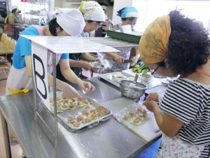 料理教室「調理風景03」