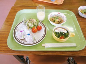 地場産夏野菜 親子クッキング教室